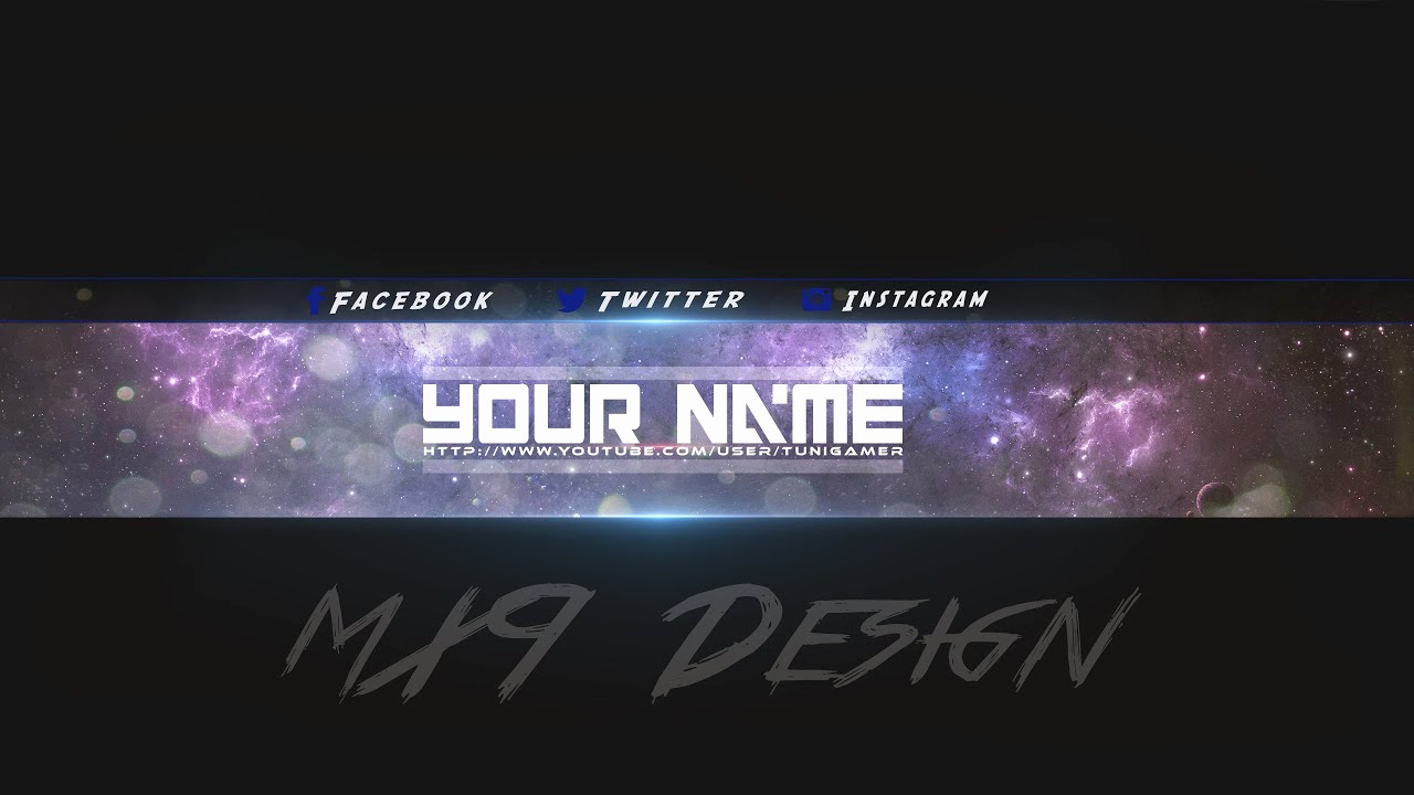 Free Youtube Banner Templates Inspirational [speedart] Free Amazing Youtube Channel Banner Template 3