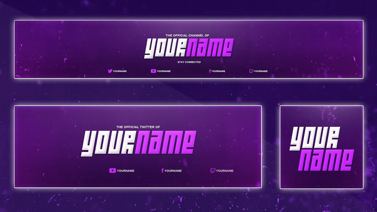 Free Youtube Banner Templates Lovely Cool Banner Template