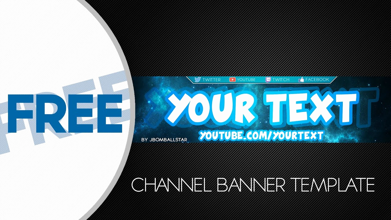 Free Youtube Banner Templates Unique [speedart] Free Hd Youtube Channel Banner Template