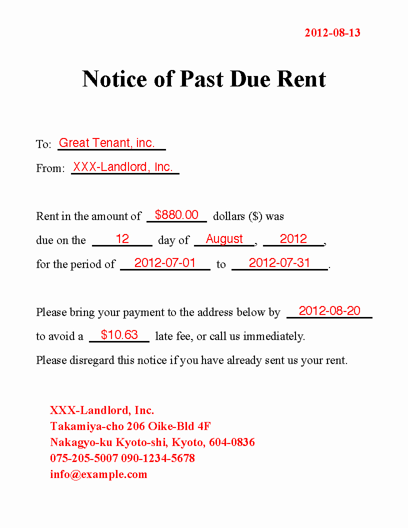 Friendly Rent Increase Letter Fresh Other Template Category Page 30 Urlspark