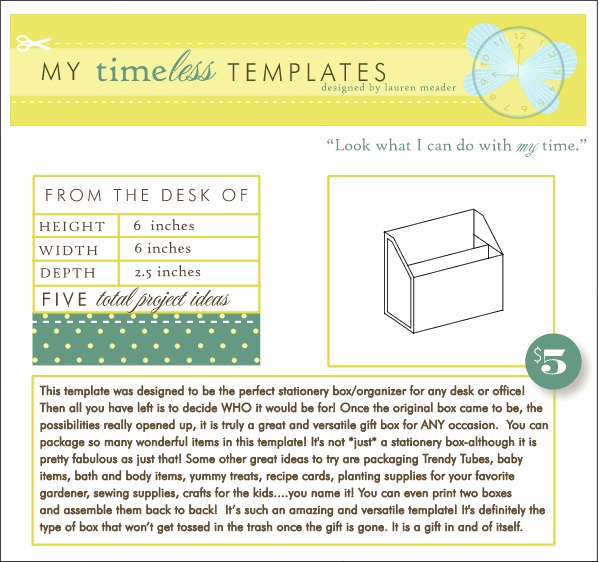 From the Desk Of Template Fresh My Timeless Templates From the Desk Of Papertrey Ink