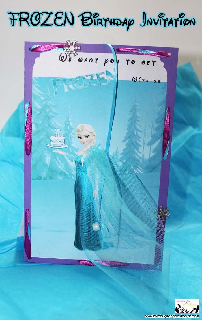 Frozen Bday Party Invitations Fresh Disney Frozen Birthday Invitation with Free Printables
