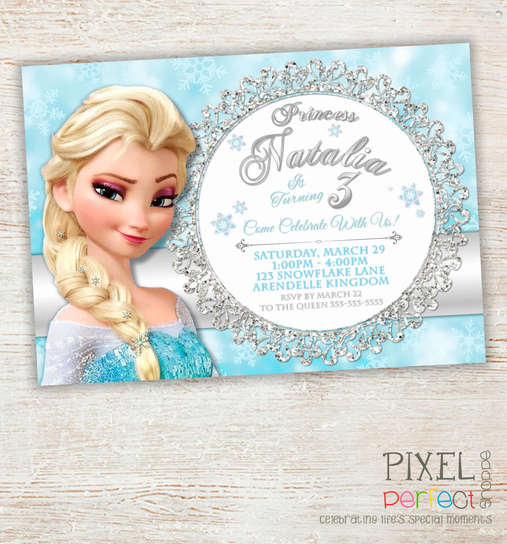 Frozen Bday Party Invitations Fresh Frozen Birthday Invitation Frozen Birthday Party Frozen