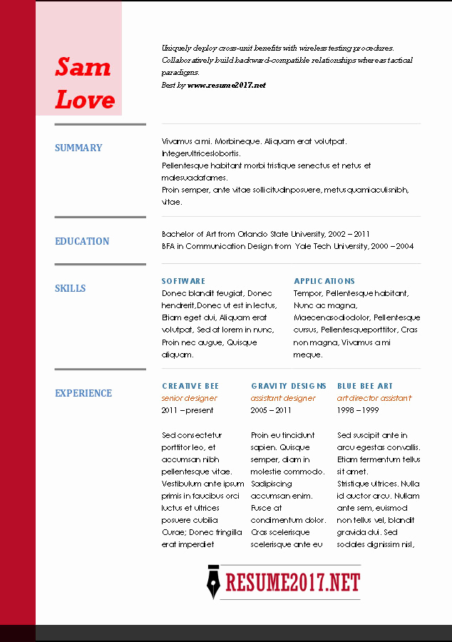 Functional Resume Template Word Inspirational Resume format 2017 16 Free to Word Templates