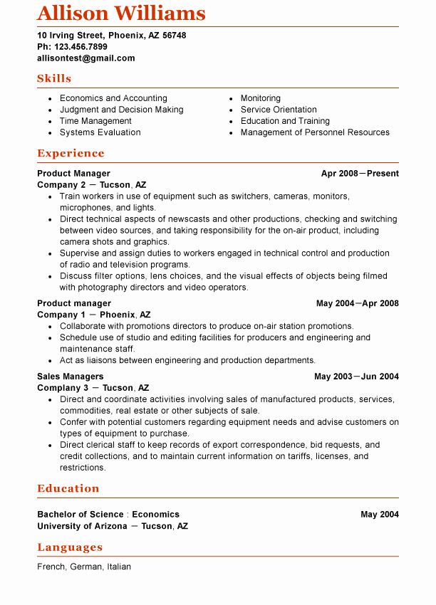 Functional Resume Template Word Lovely 1000 Ideas About Functional Resume Template On Pinterest