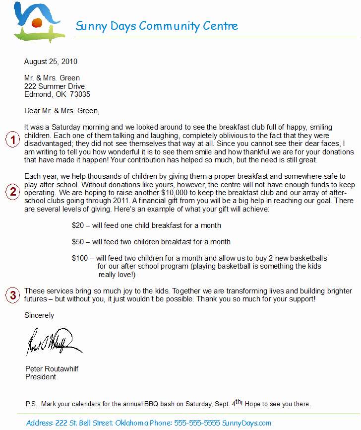 Fund Raising Letter Templates Lovely How to Write the Perfect Fundraising Letter