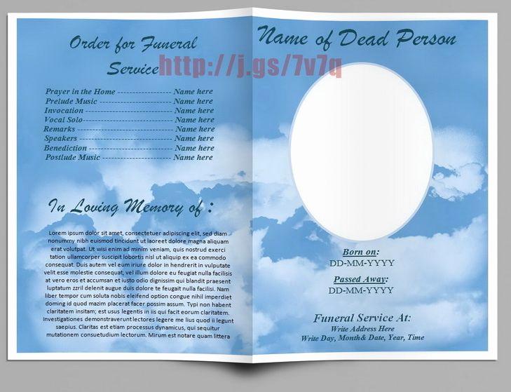 Funeral Program Template Free Elegant 74 Best Funeral Program Templates for Ms Word to Download