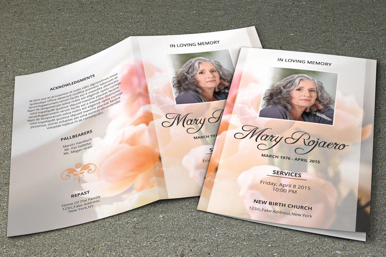 Funeral Program Template Free Elegant Funeral Program Template Obituary Template Shop and