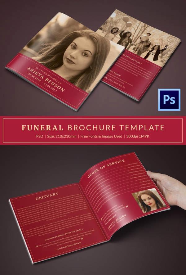 Funeral Program Template Free Fresh Funeral Program Template 23 Free Word Pdf Psd format