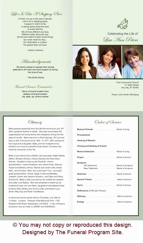 Funeral Service Program Template Lovely the 25 Best Memorial Service Program Ideas On Pinterest