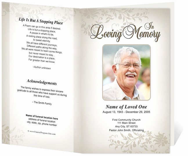 Funeral Service Program Template New 218 Best Images About Creative Memorials with Funeral