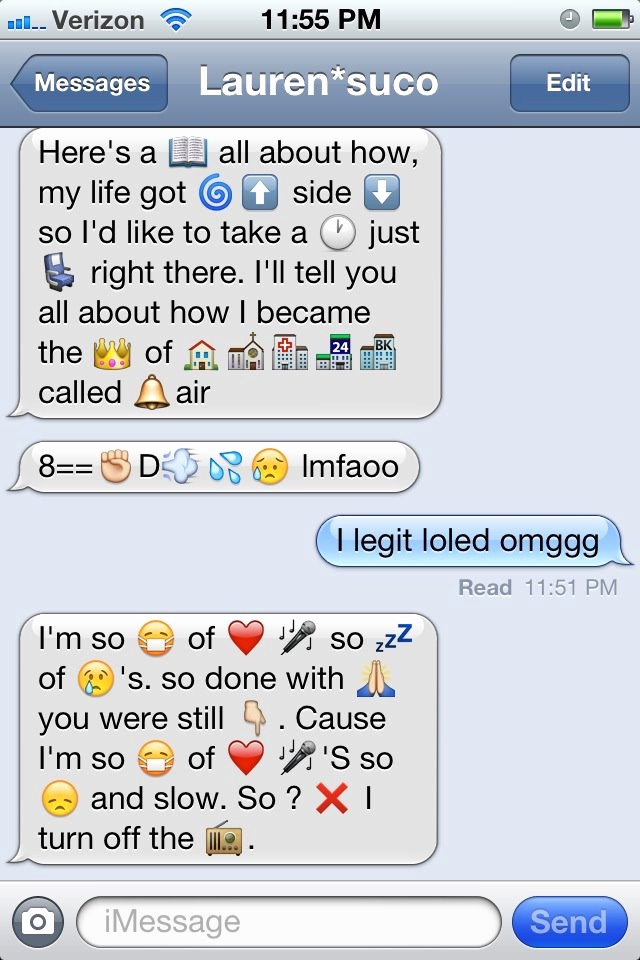 Funny Emoji Texts to Copy Lovely Funny Emoji Examples