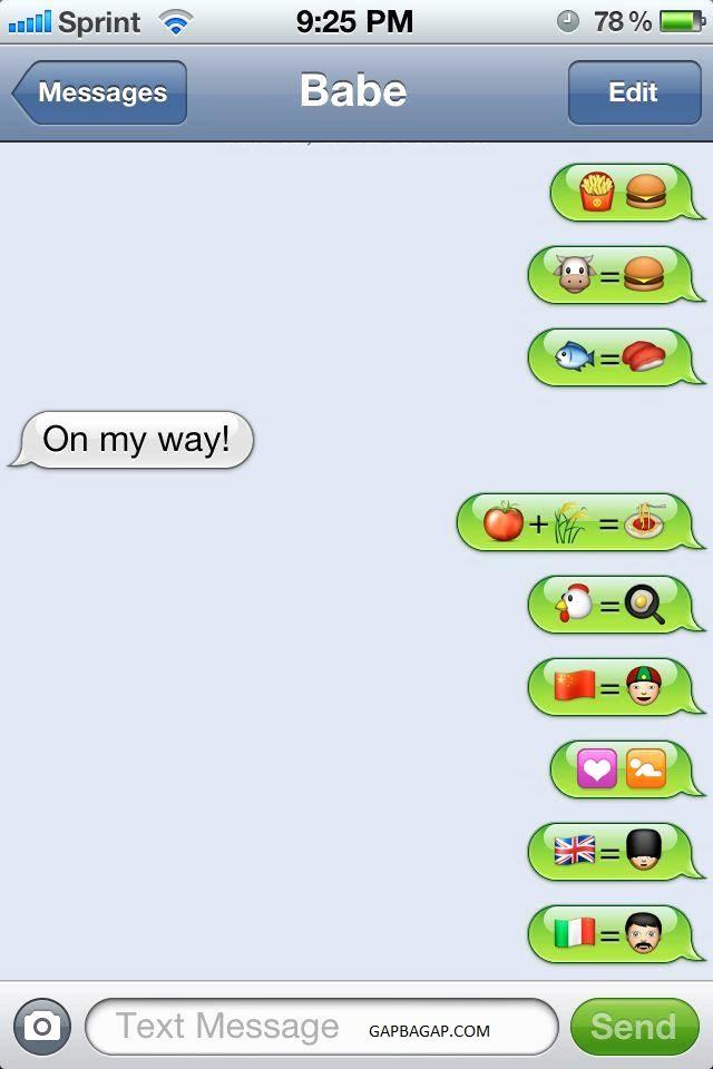 Funny Emoji Texts to Copy Luxury Funny Emoji Conversation by Two Lovers – Gap Ba Gap