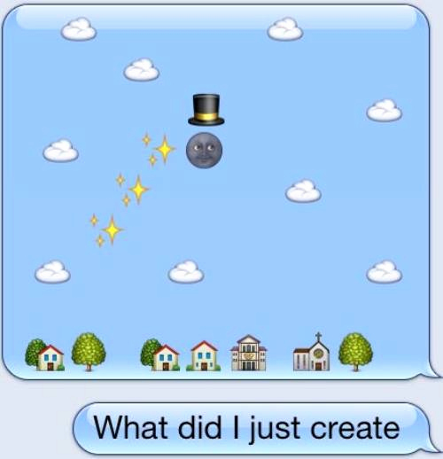 Funny Emoji Texts to Copy New Cute Emoji 26 Funny Use Of Emojis to Impress Your Friends