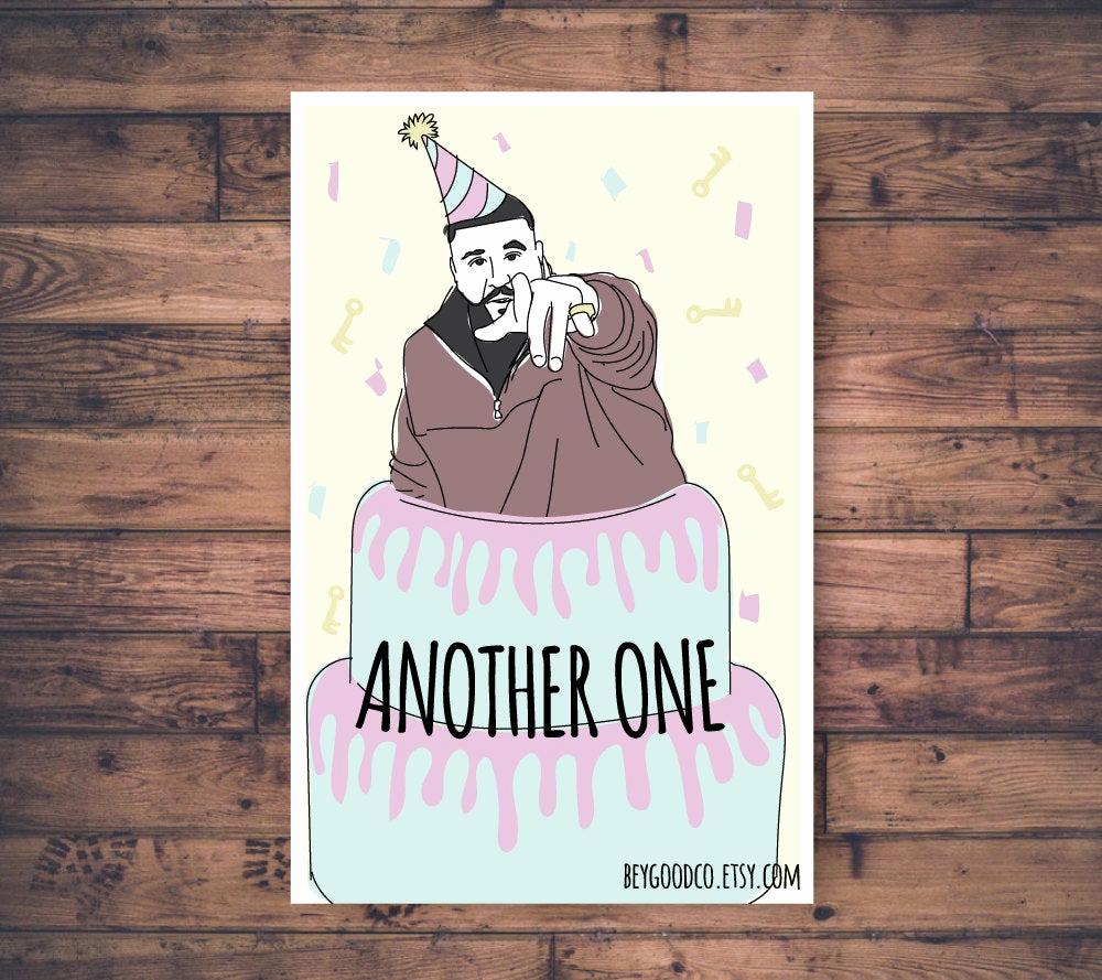 Funny Printable Birthday Cards Lovely Dj Khaled Another E Printable Birthday Card Funny