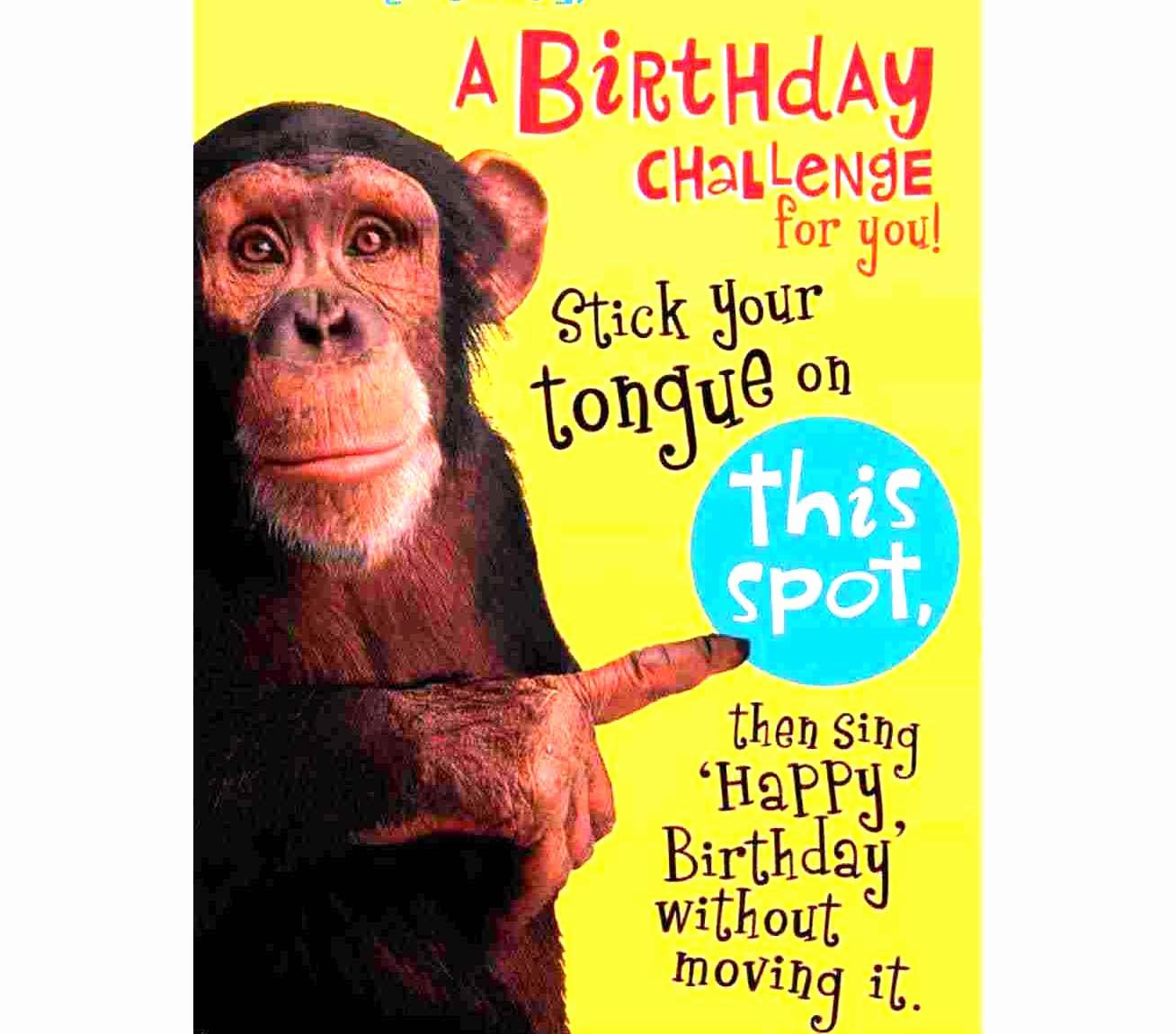 Funny Printable Birthday Cards Luxury Free Printable Funny Birthday Cards for Men Template