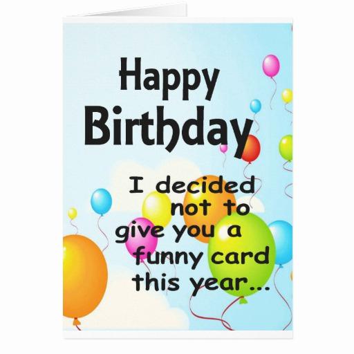 Funny Printable Birthday Cards Luxury Humorous Printable Birthday Cards Music Search Engine at