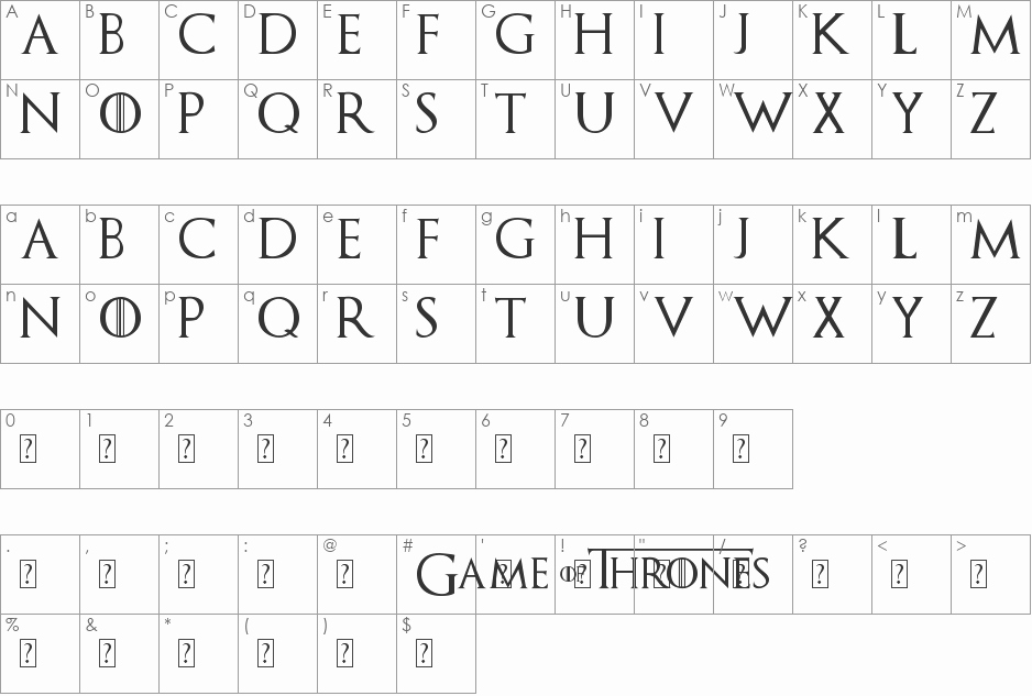 Game Of Thrones Fonts Best Of Download Free Game Of Thrones Font Fonts100