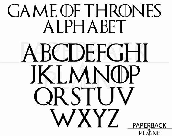 Game Of Thrones Fonts Elegant Pin by Nicki Zieth On Silhouette and Cameo Love