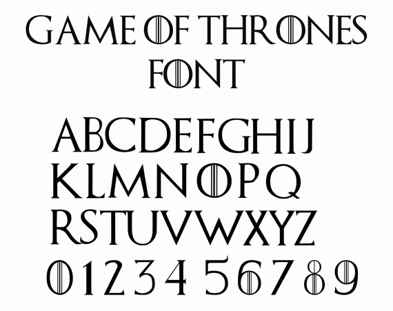 Game Of Thrones Fonts Lovely Game Of Thrones Font Svg Game Of Thrones Alphabet Svg