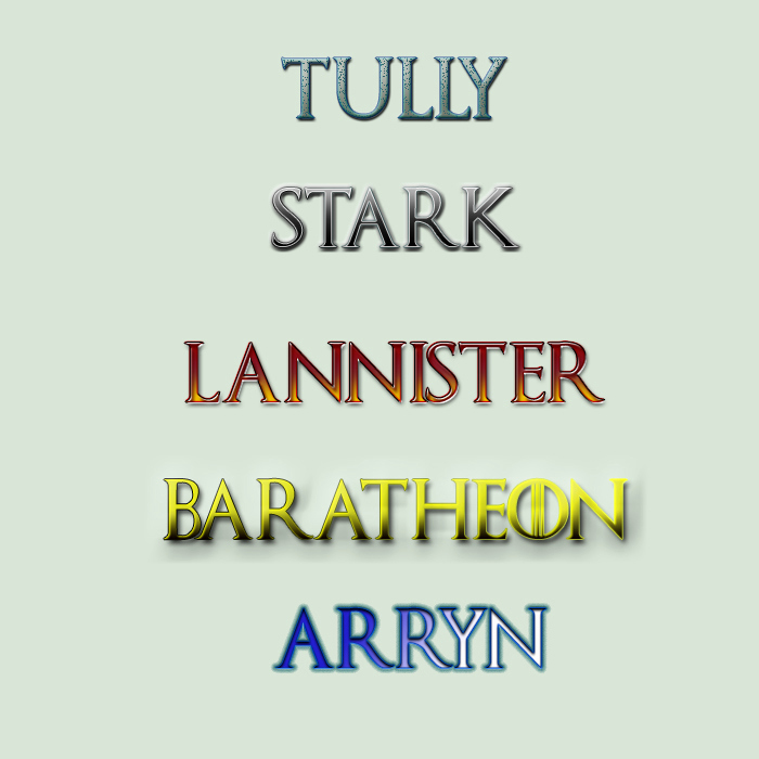 Game Of Thrones Fonts Luxury Game Of Thrones Font Styles by Damilepidus On Deviantart