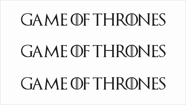 Game Of Thrones Fonts New 7 Amazing Games Thrones Fonts