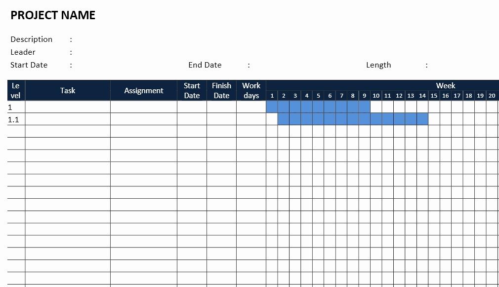 Gantt Chart Template Word Inspirational Gantt Chart Template