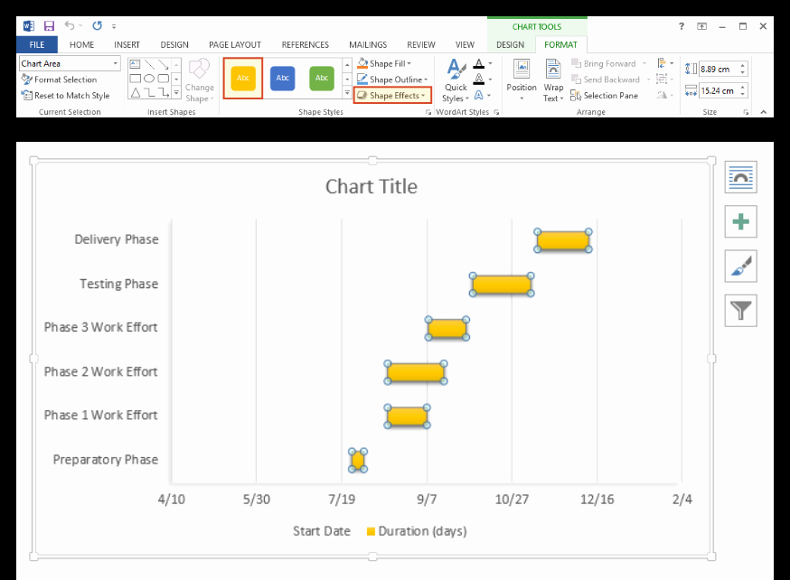 Gantt Chart Template Word Unique How to Make A Gantt Chart In Word Free Template