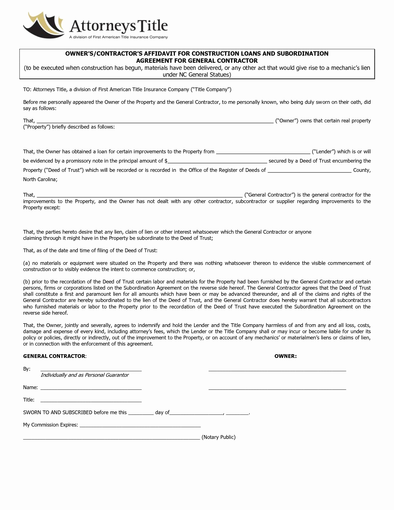 General Contractor Sample Contract New Agreement Template Category Page 3 Efoza