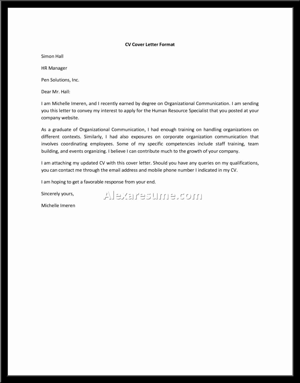 General Cover Letter Sample Fresh Cover Letter for General Helper — General assistant Cover