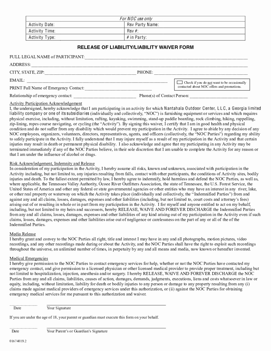 General Liability Release form Awesome 2019 assignment Of Deed Of Trust form Fillable