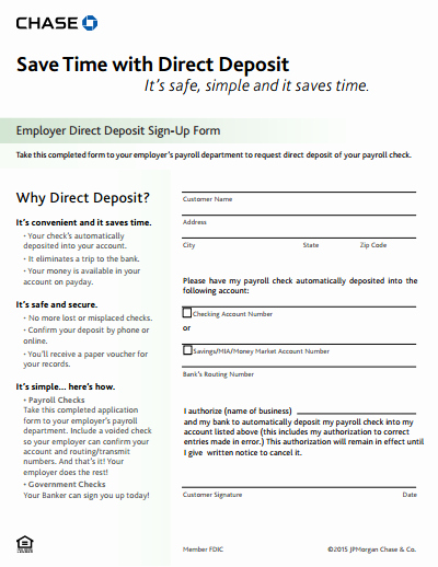 Generic Direct Deposit form Inspirational Direct Deposit form Free Download Create Edit Fill and