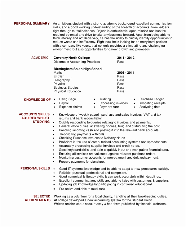 Generic Objective for Resume Lovely 6 Sample General Resume Objectives
