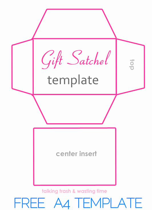 Gift Card Envelope Template Beautiful Diy T Satchel Bags From Magazines