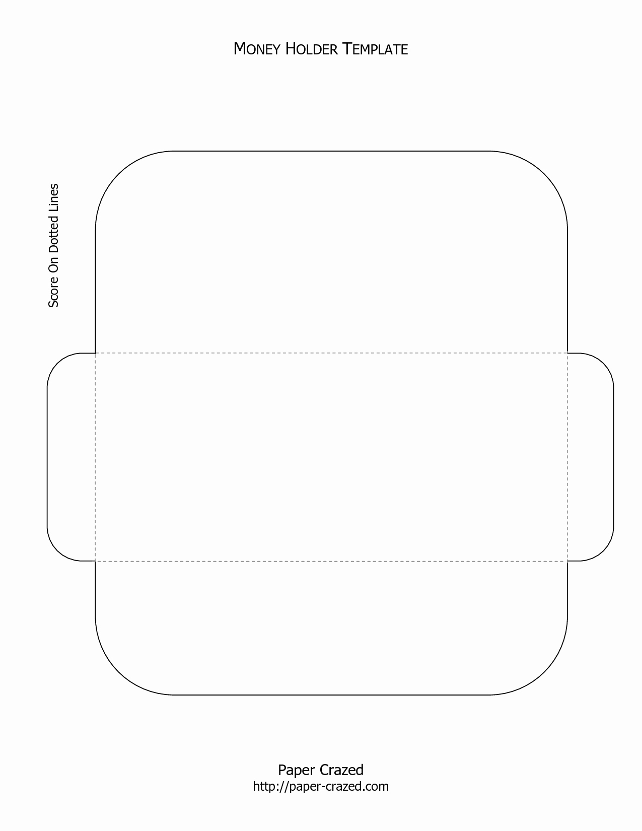 Gift Card Envelope Template Beautiful Money Holder Template Gift Wrap