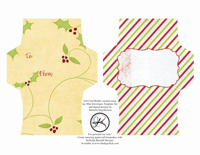 Gift Card Envelope Template New 13 Free Printable Envelope Templates – Tip Junkie
