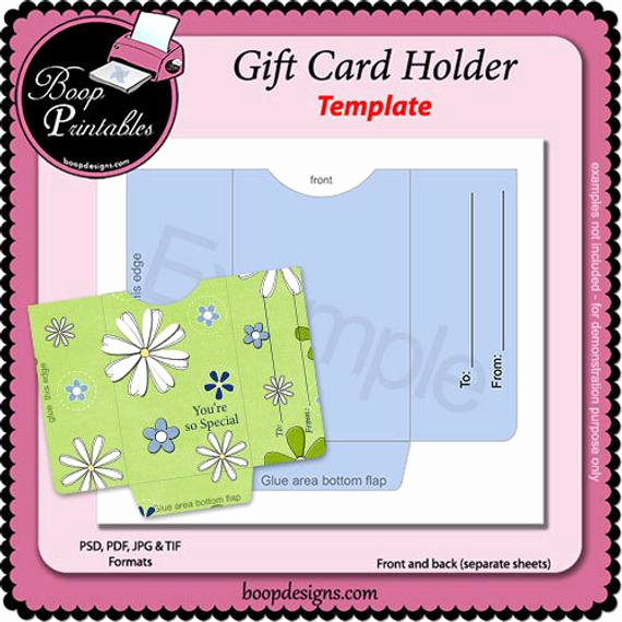 Gift Card Holder Template Best Of Items Similar to Gift Card Sleeve Holder Wrapper