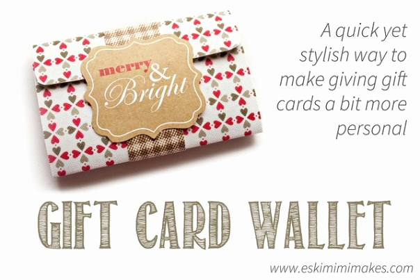 Gift Card Holder Template Luxury Make A Chic Gift Card Holder with Free Printable Template