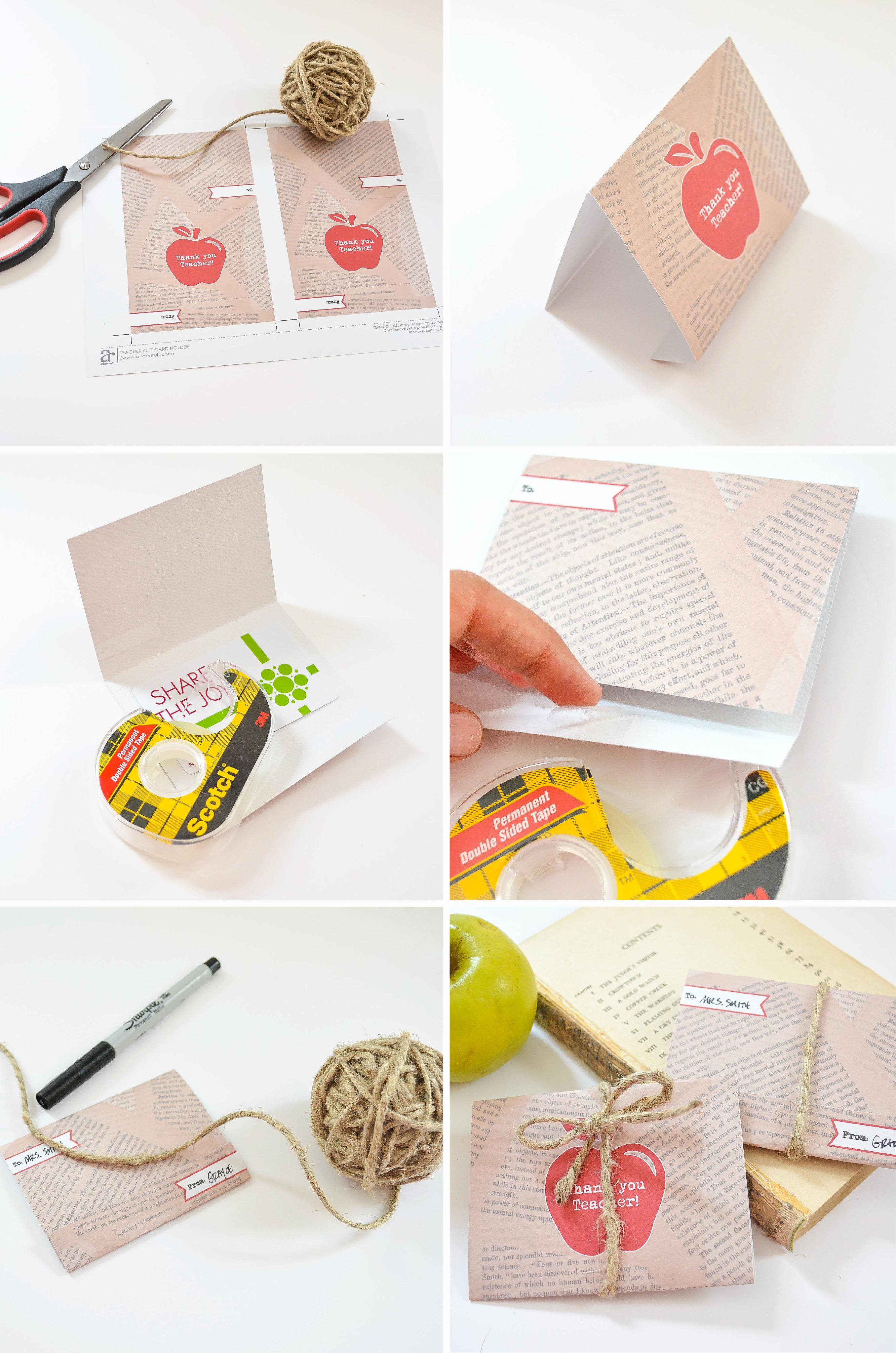 Gift Card Holder Template Luxury Ruff Draft Free Printable Gift Card Holder for Teacher