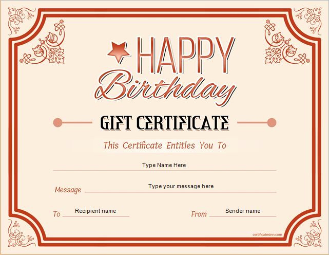 Gift Card Template Word Luxury Pin by Alizbath Adam On Certificates