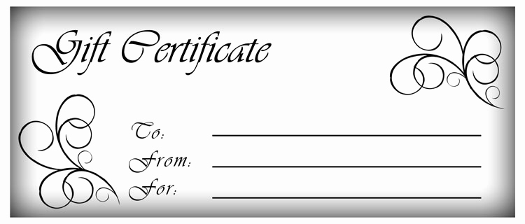 Gift Card Template Word New Steven S Trading Post
