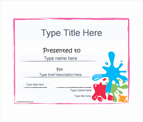 Gift Certificate Template Pdf Awesome Blank Gift Certificate Template – 13 Free Word Pdf
