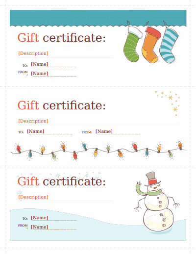 Gift Certificate Template Pdf Beautiful Gift Certificate Template Free Download Create Fill