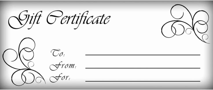 Gift Certificate Template Pdf Inspirational T Certificates Templates