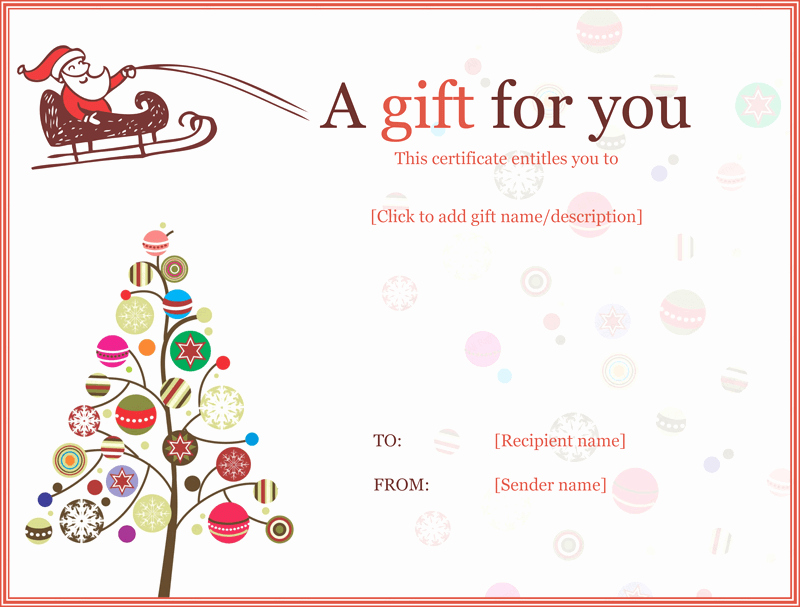 Gift Certificate Template Pdf Luxury 20 Awesome Christmas Gift Certificate Templates to End 2017