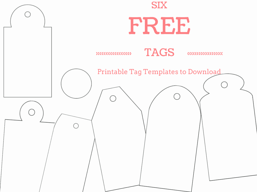 Gift Tag Template Free Best Of 6 Free Printable Gift Tag Templates