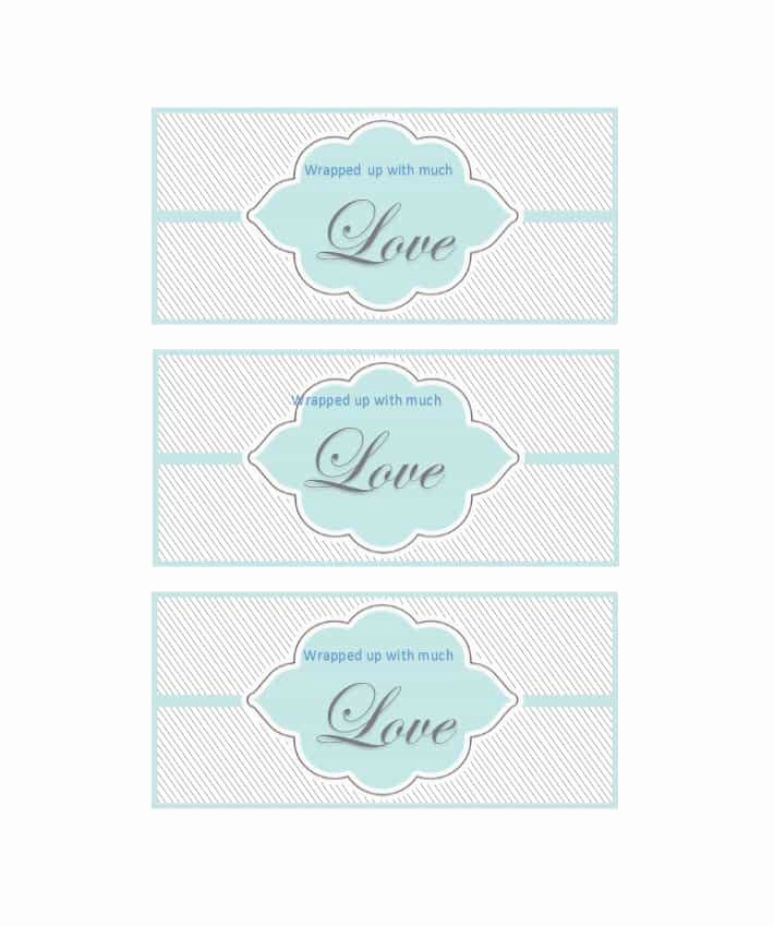 Gift Tag Template Free New 44 Free Printable Gift Tag Templates Template Lab