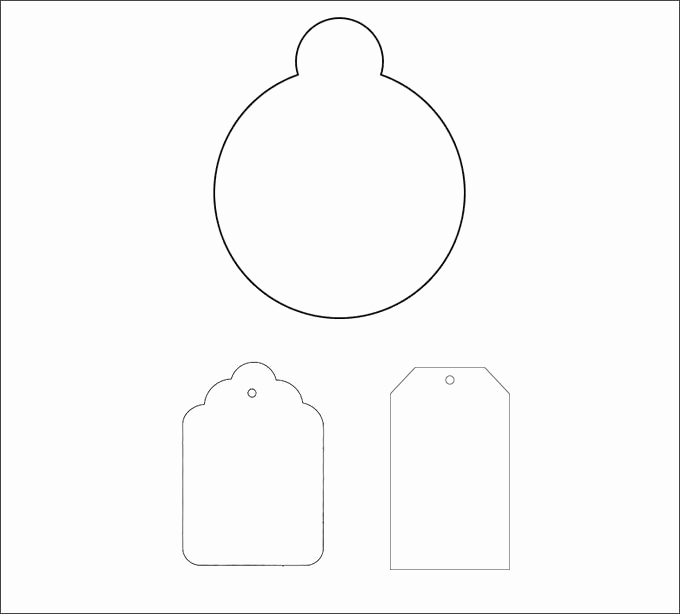 Gift Tag Template Free Unique Gift Tag Template 27 Free Printable Vector Eps Psd