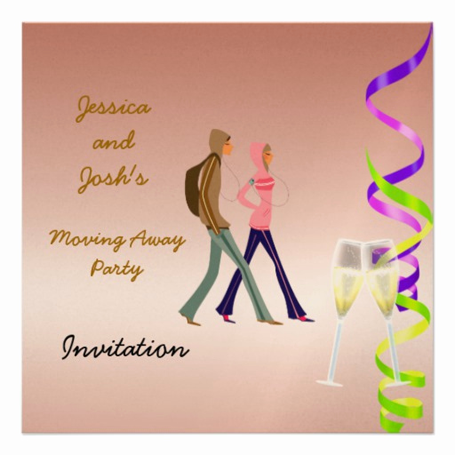 Going Away Party Invitation Fresh Going Away Party Invitation
