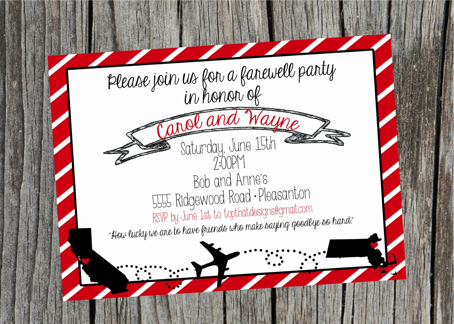 Going Away Party Invitation Lovely Going Away Moving Party Invitation Digital File
